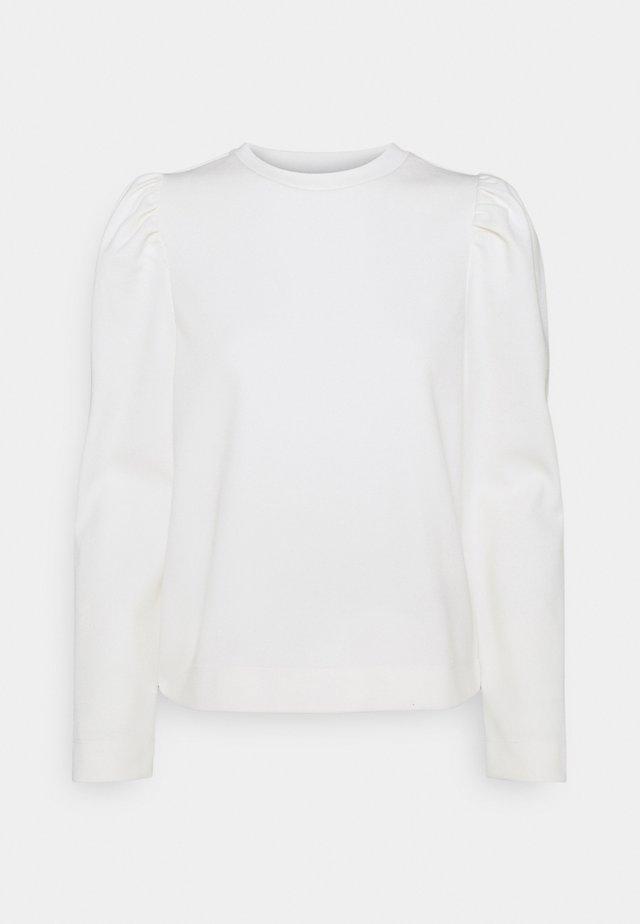 OBJMEZA  - Sweater - white