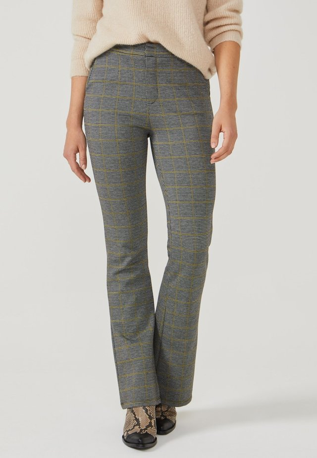CHIARA CHECK VIS 138 - Broek - curry