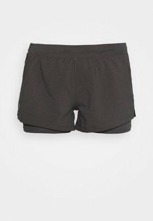 CHILL RUN 2N1 SHORT - Pantaloncini sportivi - jet gray