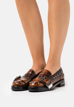 LOAFER - Slip-ons - brown