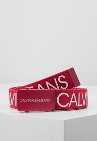 Calvin Klein Jeans - LOGO BELT - Ceinture - pink - 0