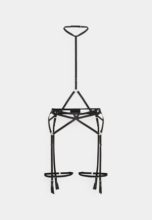 MALI SUSPENDER HARNESS - Jarretels - black