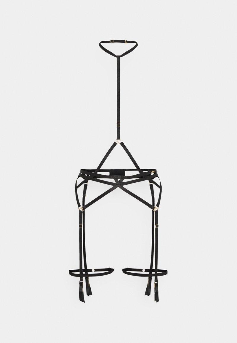 Bluebella - MALI SUSPENDER HARNESS - Suspenders - black