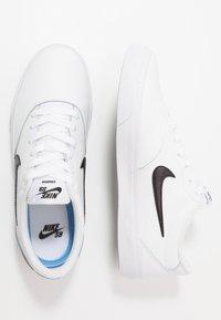 Nike SB - CHARGE PRM  - Sneakers - white/black - 3