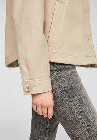Q/S designed by - Summer jacket - beige - 6