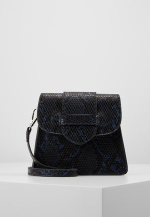 PCPOLLY MINI CROSS BODY  - Across body bag - dark blue