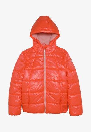 Winter jacket - neon coral
