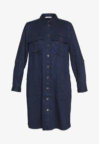 TWILL - Košilové šaty - navy