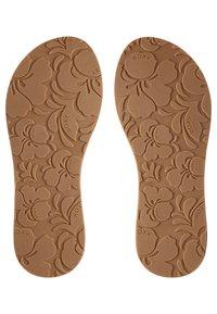 Roxy - VISTA III - T-bar sandals - tan - 2