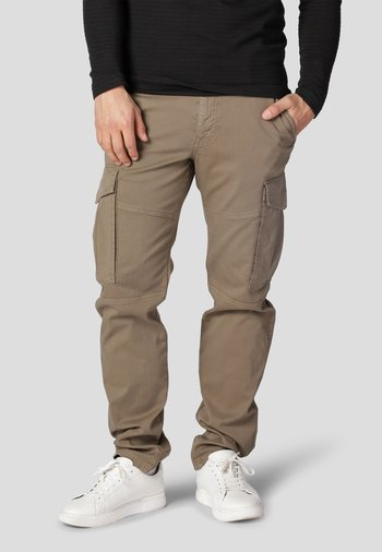 Cargo trousers - golden sand