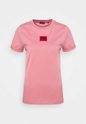 THE SLIM TEE - Print T-shirt - rose