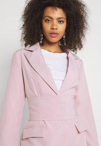 Missguided - TIE WAIST DRESS - Shift dress - baby pink - 3