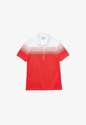 Koszulka polo - red/pink/white