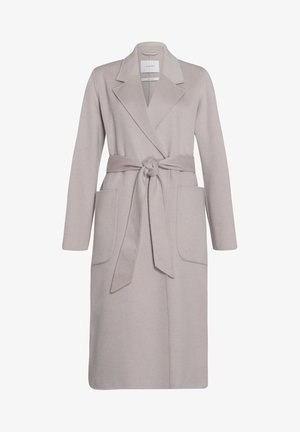 BELTED COAT - Villakangastakki - birch