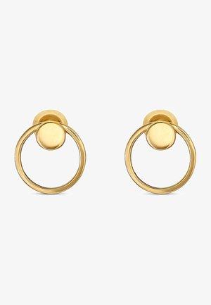 QOOQI - Earrings - gelbgold