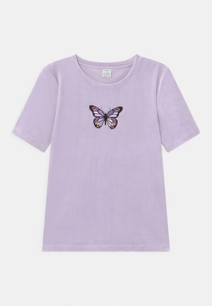 VIOLA - T-shirt z nadrukiem - light lilac