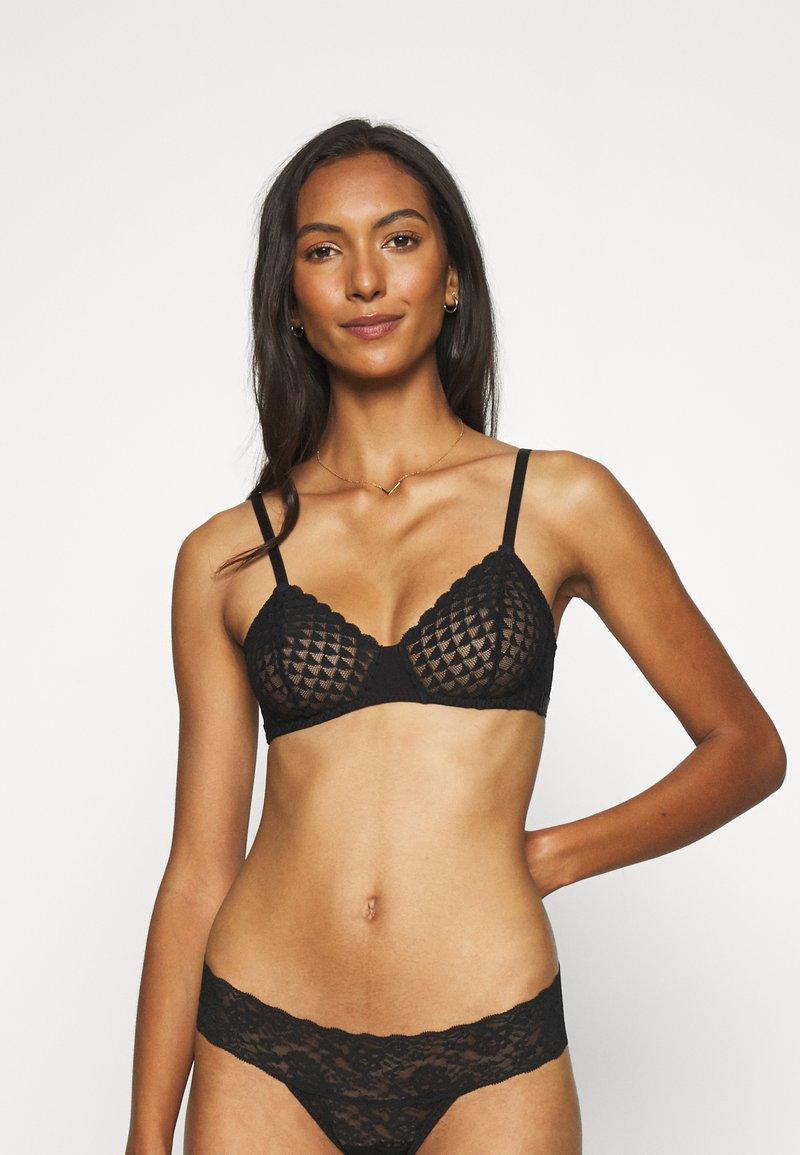 Simone Pérèle - SUBTILE - Triangle bra - schwarz