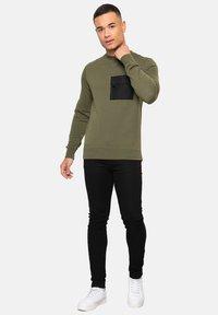 Threadbare - FIN - Sweatshirt - khaki - 1