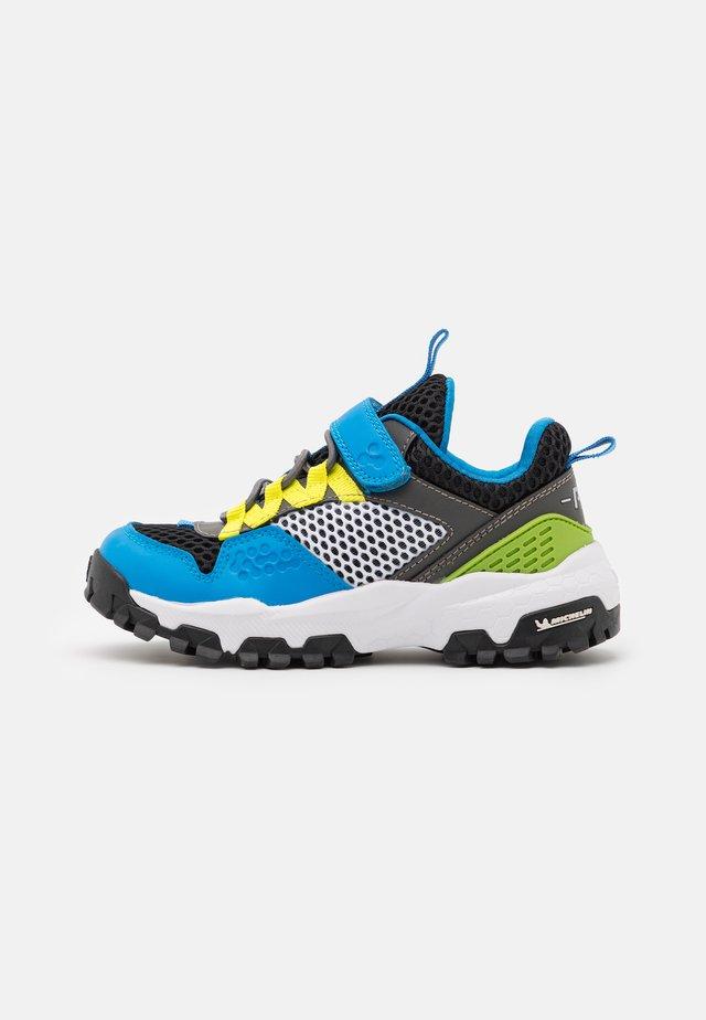 Sneakers basse - azzur/nero/verd