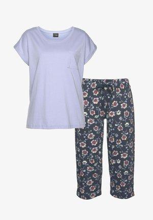 2 SET - Pyjama set - dunkelblau