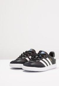 adidas Originals - SAMBA - Baskets basses - core black/footwear white - 3
