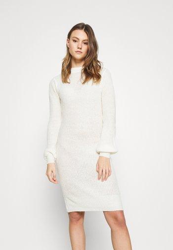 VIFESTA DRESS - Jumper dress - snow white
