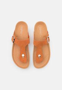 Esprit - MOLLY THONG - Sandaler m/ tåsplit - rust orange - 5