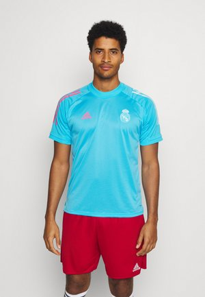 REAL MADRID AEROREADY SPORTS FOOTBALL - Article de supporter - light blue