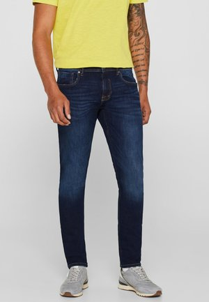 MIT USED-WASCHUNG - Jeans Skinny Fit - dark blue