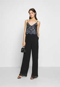 Lace & Beads - AMIE JUMPSUIT - Jumpsuit - black - 1
