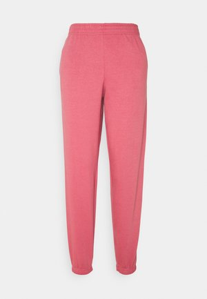 CUFFED JOGGER - Tracksuit bottoms - mid pink
