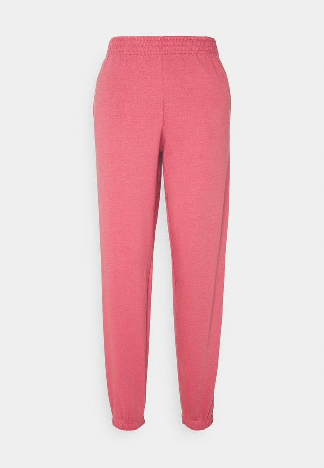 CUFFED JOGGER - Joggebukse - mid pink