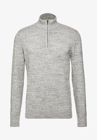 GAP - MOCK NECK - Jersey de punto - medium grey - 4