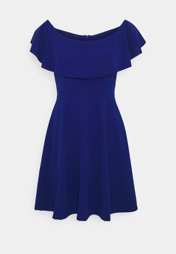 STACEY SKATER DRESS - Cocktail dress / Party dress - electric blue