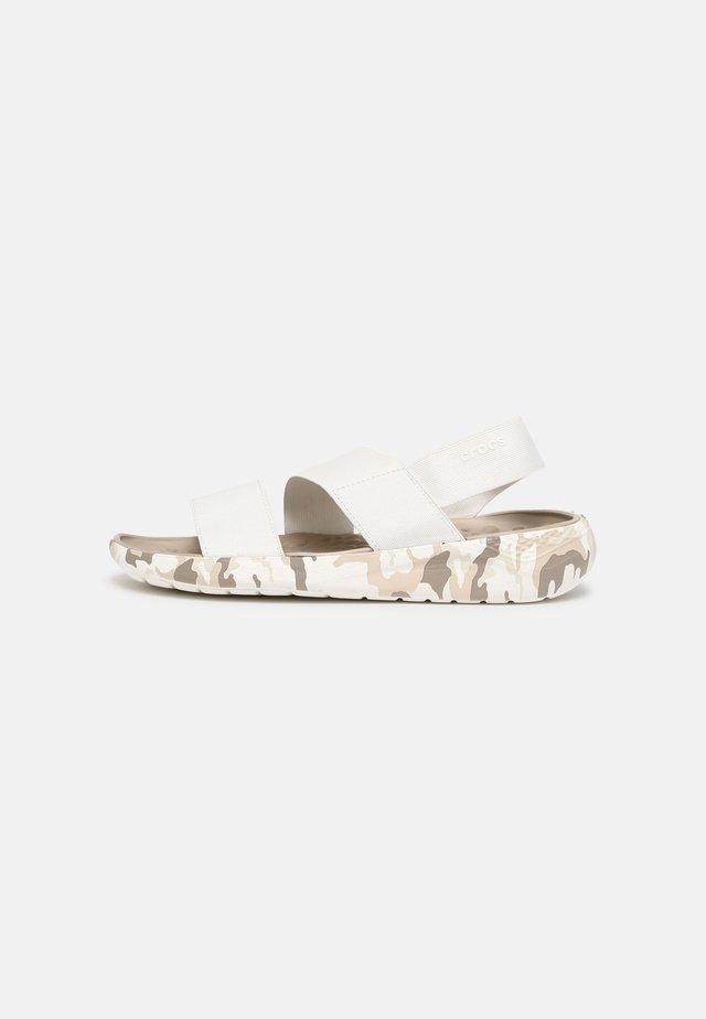 LITERIDE - Sandalen - almost white