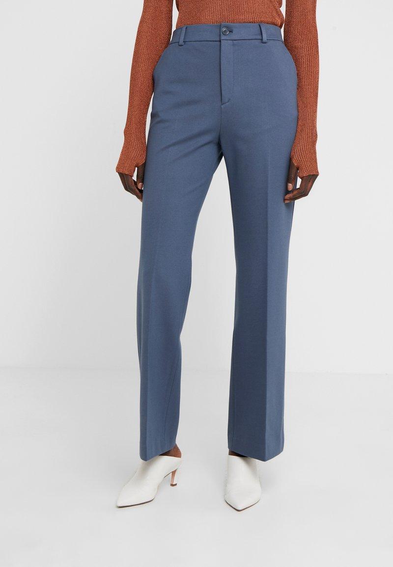 Filippa K - IVY TROUSER - Trousers - blue grey