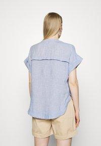 Marks & Spencer London - BLOUSE - T-shirt med print - blue - 2