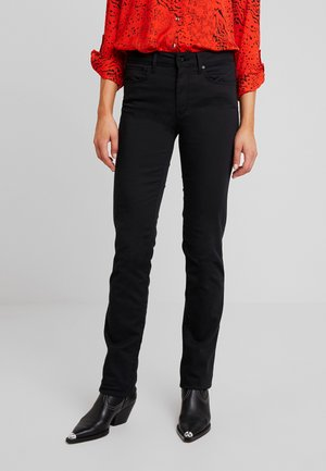 DARIA - Straight leg jeans - double black