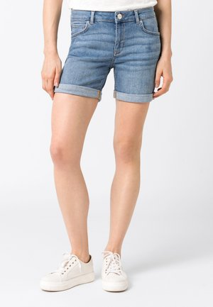 CANDIANI - Short en jean - light blue denim