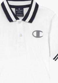 Champion - LEGACY AMERICAN CLASSICS UNISEX - Polo shirt - white - 3