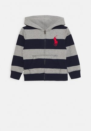 HOOD - Zip-up hoodie - andover heather multi