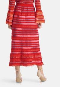 Nicowa - SANAWO - A-line skirt - lila - 2
