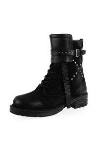 PRIMA MODA - RAVALLE  - Cowboy/biker ankle boot - black - 1