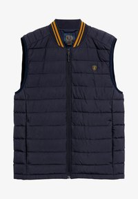 Next - SHOWER RESISTANT TIPPED - Waistcoat - blue - 0