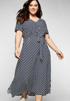 Maxi dress - marine bedruckt