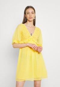 Lace & Beads - RAINA DRESS - Cocktail dress / Party dress - yellow - 0