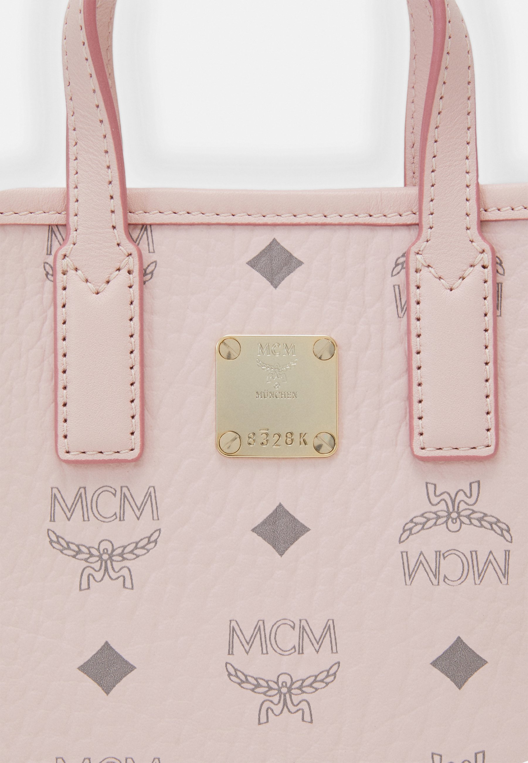 MCM ESSENTIAL VISETOS ORIGINAL - Skulderveske - powder pink/rosa QXww6UPY0brR2Tj