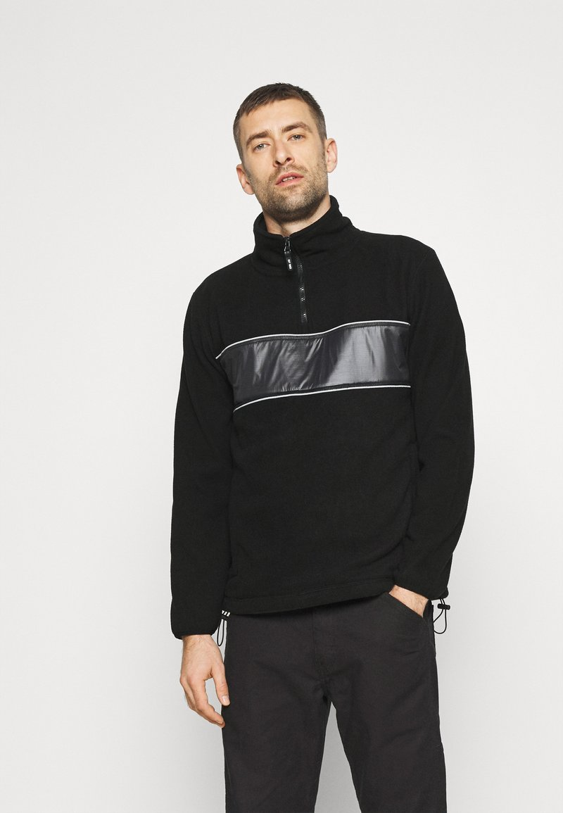 INDICODE JEANS - KINGSMILL - Fleece jumper - black