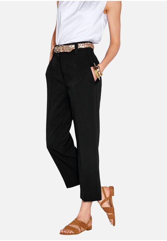 BARBARA - Pantalon classique - schwarz