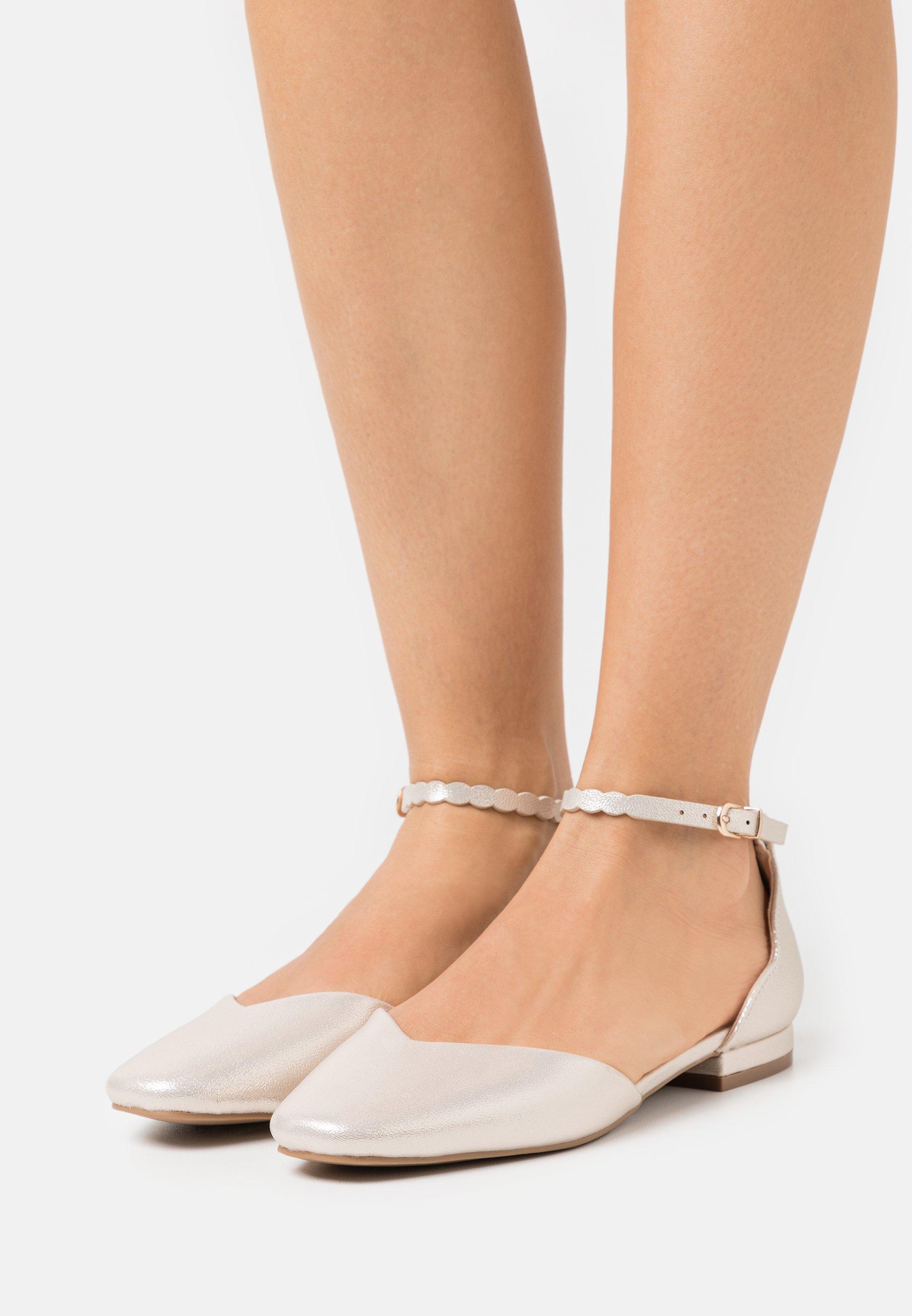 Women BAKER - Ankle strap ballet pumps